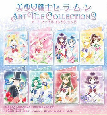 Sailor Moon Mini Clear file collection 3