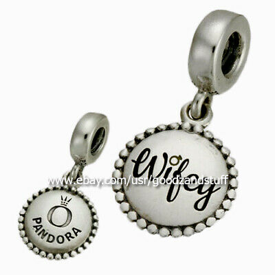 Wifey Authentic Pandora Sterling Silver Charm ENG791169_33
