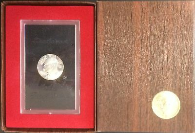 "USA -  COFFRET 1 dollar argent 1971 ""EISENHOWER "" Proof * 09-003/004"
