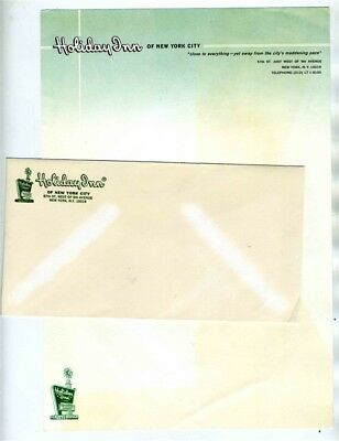 Holiday Inn of New York City Stationery & Envelope 57th Street West of 9th Ave