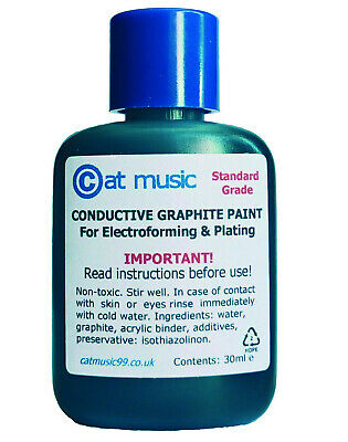 CONDUCTIVE GRAPHITE PAINT for ELECTROPLATING and ELECTROFORMING