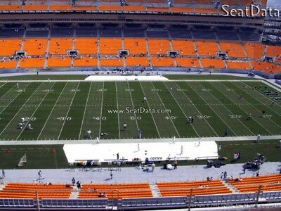 (2) Steelers 2nd Preseason Home Game Tickets 50 Yard Line Under Cover!!