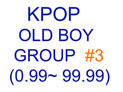 KPOP old boy group Promotion album SUPER SET 3 (Updating...)