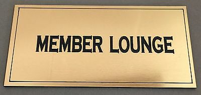 BP21 DENTIST DOCTORS WALL OFFICE WORK SIGN Engraved Brass ABS Memorial Plaque