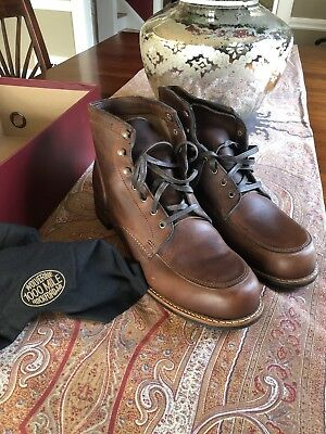 cdce19be9a7 WOLVERINE 1000 MILE Boots Courtland Size 12.0 Brown NEW IN BOX