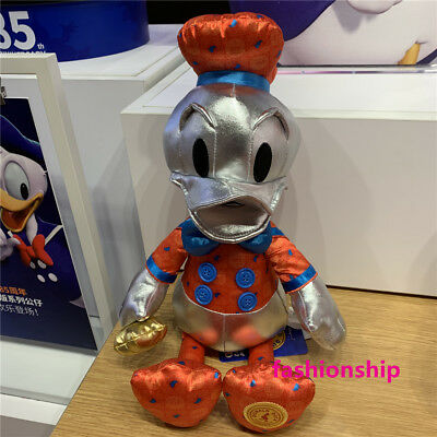 NWT Donald Duck memories february Plush toy shanghai disney store limited
