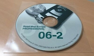 BMW dvd road map navi professional 2006-02 europe