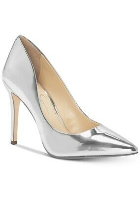 Jessica Simpson Womens CASSANI3 Pointed Toe Classic Pumps IRIDESCENT MIRROR IRIS