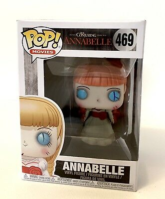 Funko Pop Movies Horror S4 The Conjuring Annabelle Vinyl Figure #469 NEW