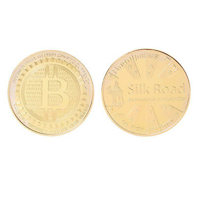 Bitcoin Silk Road Anonymous Mint Card Protector Commemorative Coin Gift Bag
