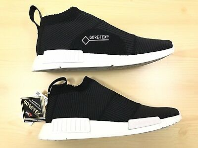 2b654e609b318 ADIDAS NMD CS1 GTX Boost City Sock PK Primeknit Gore-Tex Black Size ...