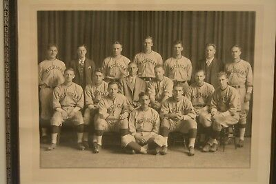 original 1929 MICHIGAN WOLVERINES COLLEGE BASEBALL TEAM  PHOTO rare