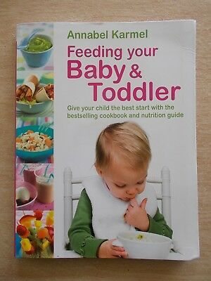 Feeding Your Baby & Toddler~Annabel Karmel~Give Your Child The Best Start~192pp