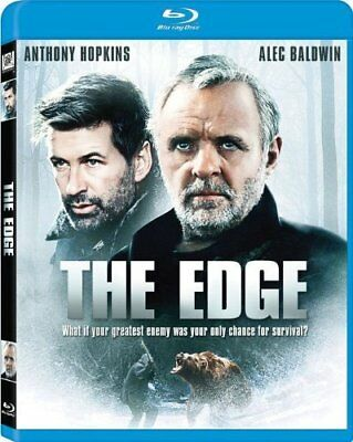 The Edge Anthony Hopkins Alec Baldwin Blu-ray Lee Tamahori 24543657866 NEW
