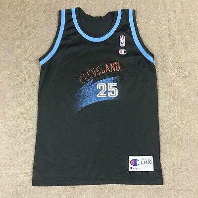 62c0d22b65d6 VTG Champion Mark Price Cleveland Cavaliers  25 Jersey Black Youth Large  14-16