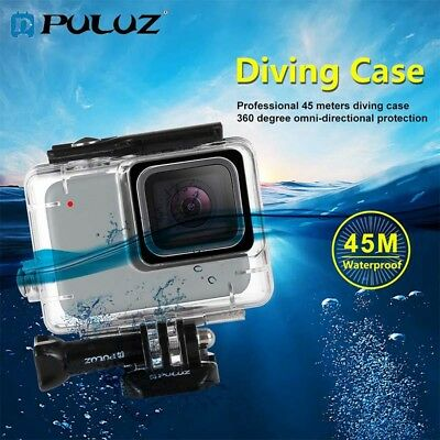 PULUZ 45m Underwater Waterproof Housing Diving Case for GoPro HERO7 Silver/HERO7