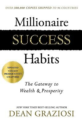 Millionaire Success Habits by Dean Graziosi Updated edition Hardcover Self-Help
