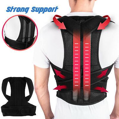 Men Women Back Posture Corrector Shoulder Correction Support Brace Belt Relief