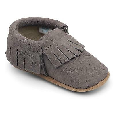 Baby Suede Shoes. Soft Sole Uk Child Toddler Sizes For 0 - 6 Months Kids