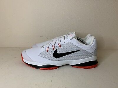 b0a03d1a4f1bf1 NEW! NIKE AIR Zoom Ultra Tennis Court Shoe White/Black/Red 845007 ...