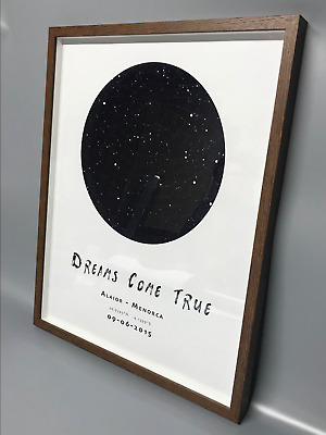 99 Personalized Star Map Print Or Poster Of The Night Sky