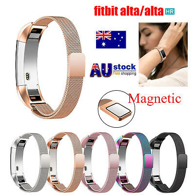 For Fitbit Alta / Alta HR Magnetic Stainless Steel Replacement Spare Band Strap