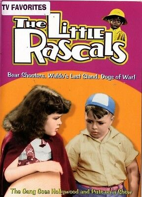 The Little Rascals - Bear Shooters, Waldos Last Stand, Dogs of War! (DVD, 2001)