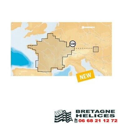 Carte Navionics+ Small 538 France eaux interieures
