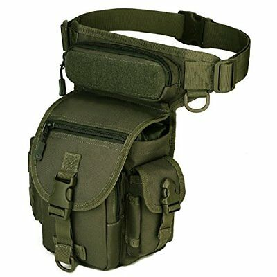 Fishing Tactical MOLLE Leg Bag Utility Pouch Bag Thigh Pack Military Camo Pack