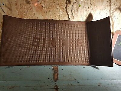 singer sewing machine vintage 1940s rubber mat