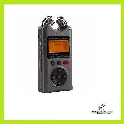 Tascam DR-40 - Portable Home Digital Audio Recorder (Luminous Gray)