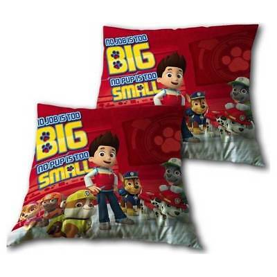 Kids  PAW PATROL Characters Cushion Pillow  Childrens Gift New Official
