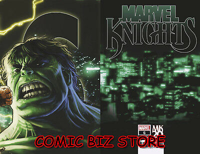 Marvel Knights 20Th #6 (Of 6) (2019) Camuncoli Connecting Variant Cover ($4.99)