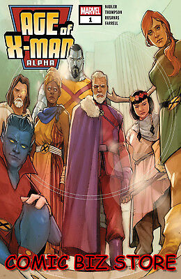 Age Of X-Man Alpha #1 (2019) 1St Printing Phil Noto Main Cover Marvel ($4.99)