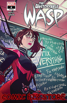 Unstoppable Wasp #4 (2019) 1St Printing Bagged & Boarded Marvel Comics