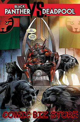 Black Panther Vs Deadpool #4 (Of 5) (2019) 1St Printing Main Cover Marvel