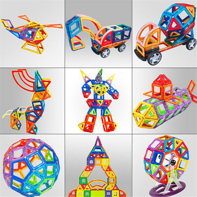 3D Magnetic Building Toys For Toddlers Kids Boys Gift Construction Educational