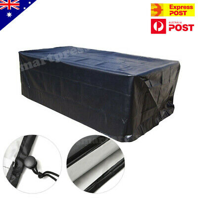 7/8/9ft Outdoor Pool Snooker Billiard Table Cover Polyester Waterproof Dust Cap