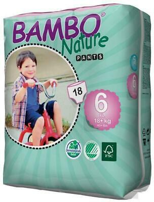 Bambo Nature Training PANTS Size 6 XL 16-25kg - 18 Pack