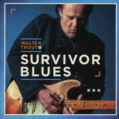 Survivor Blues Walter Trout Audio CD BEST SELLING FREE SHIPPING NEW