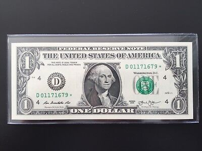 """Wow Star note 2013 $1 DOLLAR BILL ( Cleveland """"D"""" ) ,Hard to find ,UNCIRCULATED"""