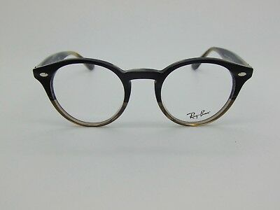 91fd9b141c603 NEW Authentic Ray Ban RB 2180-V 5540 Grey Horn Gradient 47mm RX Eyeglasses