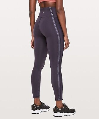 83aea372c9 NWT NEW LULULEMON Soulcycle Black Leggings Tight Athletic Workout ...