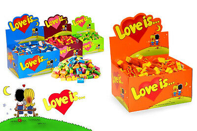 LOVE IS.. ALL Selection ORIGINAL Retro Bubble Gum - We Guarantee The BEST PRICE