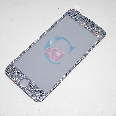iPhone 7/8 Tempered Glass Screen Protector embellished in SWAROVSKI Crystals