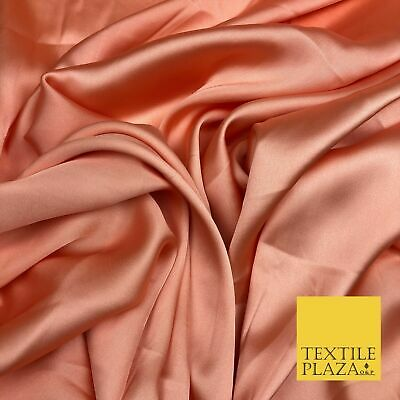 """DEEP RED Fine Silky Sateen Georgette Dress Fabric Draping Lining 55/"""" O1157"""
