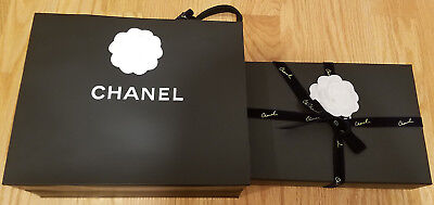 NEW! AUTHENTIC Chanel Wallet on Chain (WoC) Style  Black Caviar w  4b65a5b312d4f