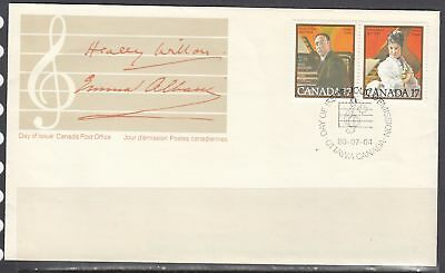 Canada Scott 861a FDC - 1980 Canadian Musicians Issue