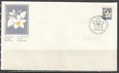 Canada Scott 781 FDC - 1979-83 Floral Definitive Issue