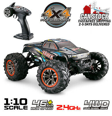 Hosim RC Monster Truck Car 1:10 Scale 4WD 2.4Ghz Off-road Remote Control Car